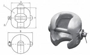 Двойное ушко УД 7-16